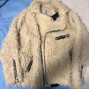UNIF x UO faux Sherpa jacket